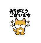 豆いぬ1 (敬語編)(個別スタンプ:05)