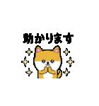 豆いぬ1 (敬語編)(個別スタンプ:06)