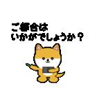 豆いぬ1 (敬語編)(個別スタンプ:13)