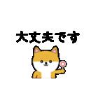 豆いぬ1 (敬語編)(個別スタンプ:16)