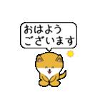 豆いぬ1 (敬語編)(個別スタンプ:17)