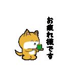 豆いぬ1 (敬語編)(個別スタンプ:19)