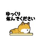 豆いぬ1 (敬語編)(個別スタンプ:20)