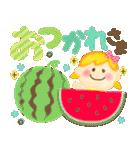 大人可愛い♡ゆるふわガール♥デカ文字敬語(個別スタンプ:12)