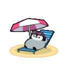 うごく♪心くばりペンギン 夏ver.(個別スタンプ:22)