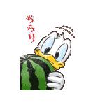 ディズニー 暑中お見舞い Bigスタンプ(個別スタンプ:20)