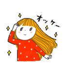 おっちょこガール♡(再販)(個別スタンプ:02)
