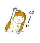 おっちょこガール♡(再販)(個別スタンプ:09)