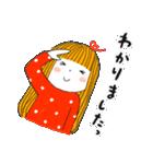 おっちょこガール♡(再販)(個別スタンプ:10)