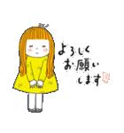 おっちょこガール♡(再販)(個別スタンプ:11)