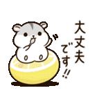 夏に使える!ぽちゃハムちゃんのスタンプ(個別スタンプ:27)
