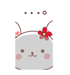 (いちゃ+いちゃ)× 24h= ♡【BIG】(個別スタンプ:4)