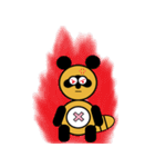 タヌキのたぬパンBIGスタンプ1(個別スタンプ:31)