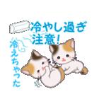 三毛猫ツインズ 夏~!(個別スタンプ:16)