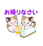 三毛猫ツインズ 夏~!(個別スタンプ:40)