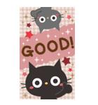 BIGスタンプ★黒ねこの誕生日&お祝い(個別スタンプ:37)