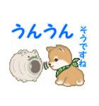 よちよち豆柴 優しい夏(個別スタンプ:15)