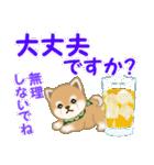 よちよち豆柴 優しい夏(個別スタンプ:29)
