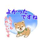 よちよち豆柴 優しい夏(個別スタンプ:34)