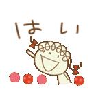 レトロ風☆くるリボン(個別スタンプ:03)