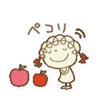 レトロ風☆くるリボン(個別スタンプ:04)