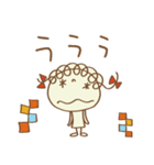 レトロ風☆くるリボン(個別スタンプ:32)