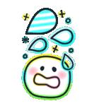 BIGスタンプ♡カラフルネオン♪デカ文字(個別スタンプ:34)
