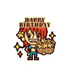 【動く】ONE PIECE 誕生日をお祝い!(個別スタンプ:3)