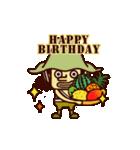 【動く】ONE PIECE 誕生日をお祝い!(個別スタンプ:4)