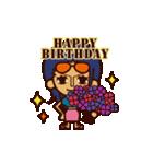 【動く】ONE PIECE 誕生日をお祝い!(個別スタンプ:7)