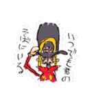 尾田っちの左手で描いたONE PIECEスタンプ!(個別スタンプ:10)