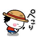 しろまるのONE PIECE コラボスタンプ♡限定(個別スタンプ:40)