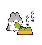 お返事に便利なパンダウサギさん(個別スタンプ:23)