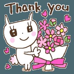 感謝いっぱい♥うさきゅん