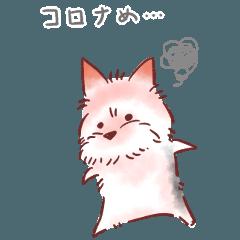 感染症対策ヨーキー コロナっめっ vol.06