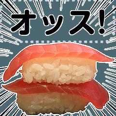 [LINEスタンプ] メッセージお寿司