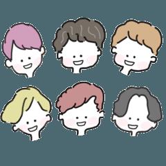6人の大男たち