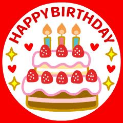 【動く❤️お誕生日】やさしいお祝い