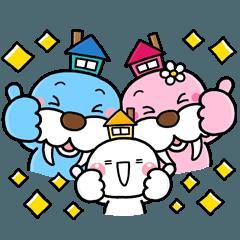[LINEスタンプ] 毎日使える♡みんなの優しいスタンプ (1)