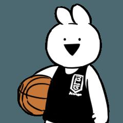[LINEスタンプ] B.LEAGUE×すこぶる動くウサギ