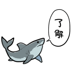 しゃべるホオジロザメ