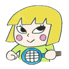 テニスがまぁまぁ好きなあさきちゃん