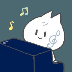 ピアノ弾きのねこ