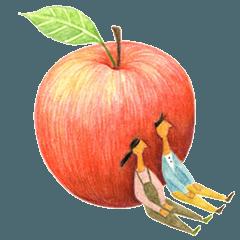 リンゴとふたり