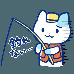 釣れない猫のLINEスタンプ