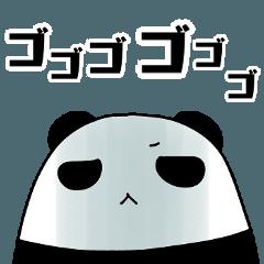 パンダと白いハムスター6