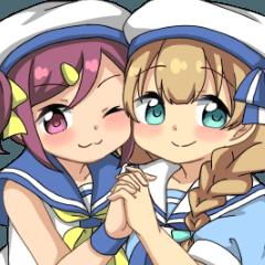 アリシアとカタリナ