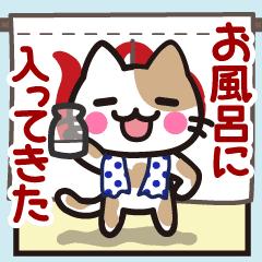 ♥可愛い猫たち「にゃんこさん」★動く 2★