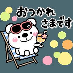 夏に一番使える♡大人のやさしいスタンプ2