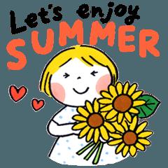 仲良しともだち Let's enjoy SUMMER 再販